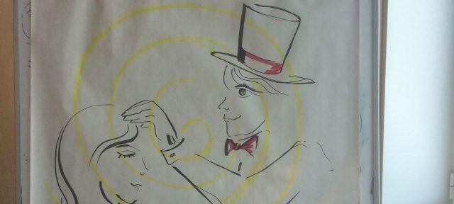 Hypnotiseur hypnotiseert personeelsleden Caceis Bank Luxemburg tijdens hypnose workshops - The Charming Thief