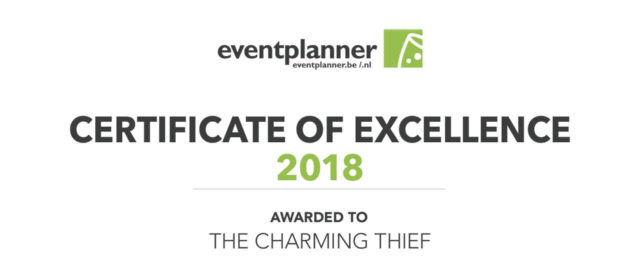 The Charming Thief Award of Excellence